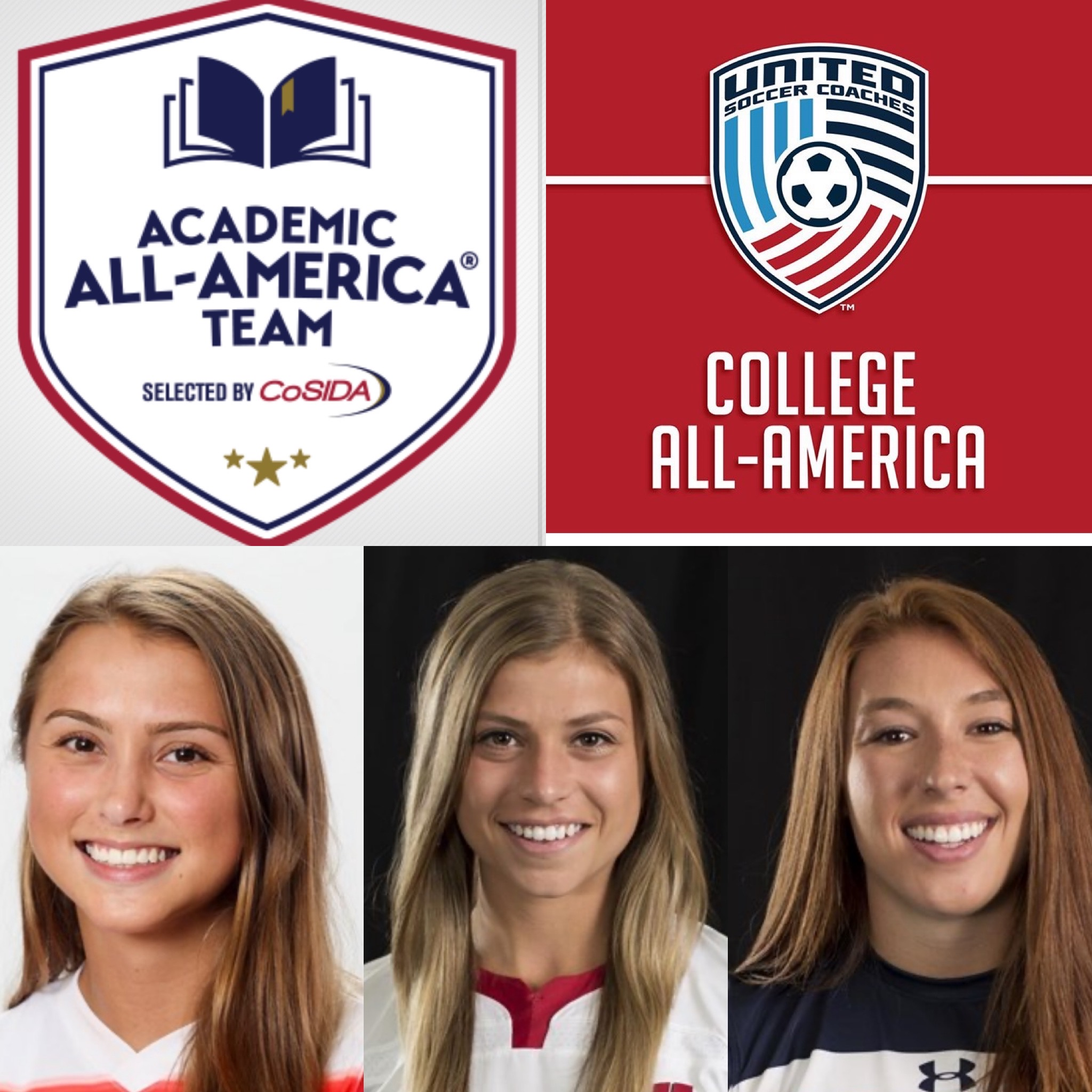 3 Collegiate All-Americans in 2019 Season!