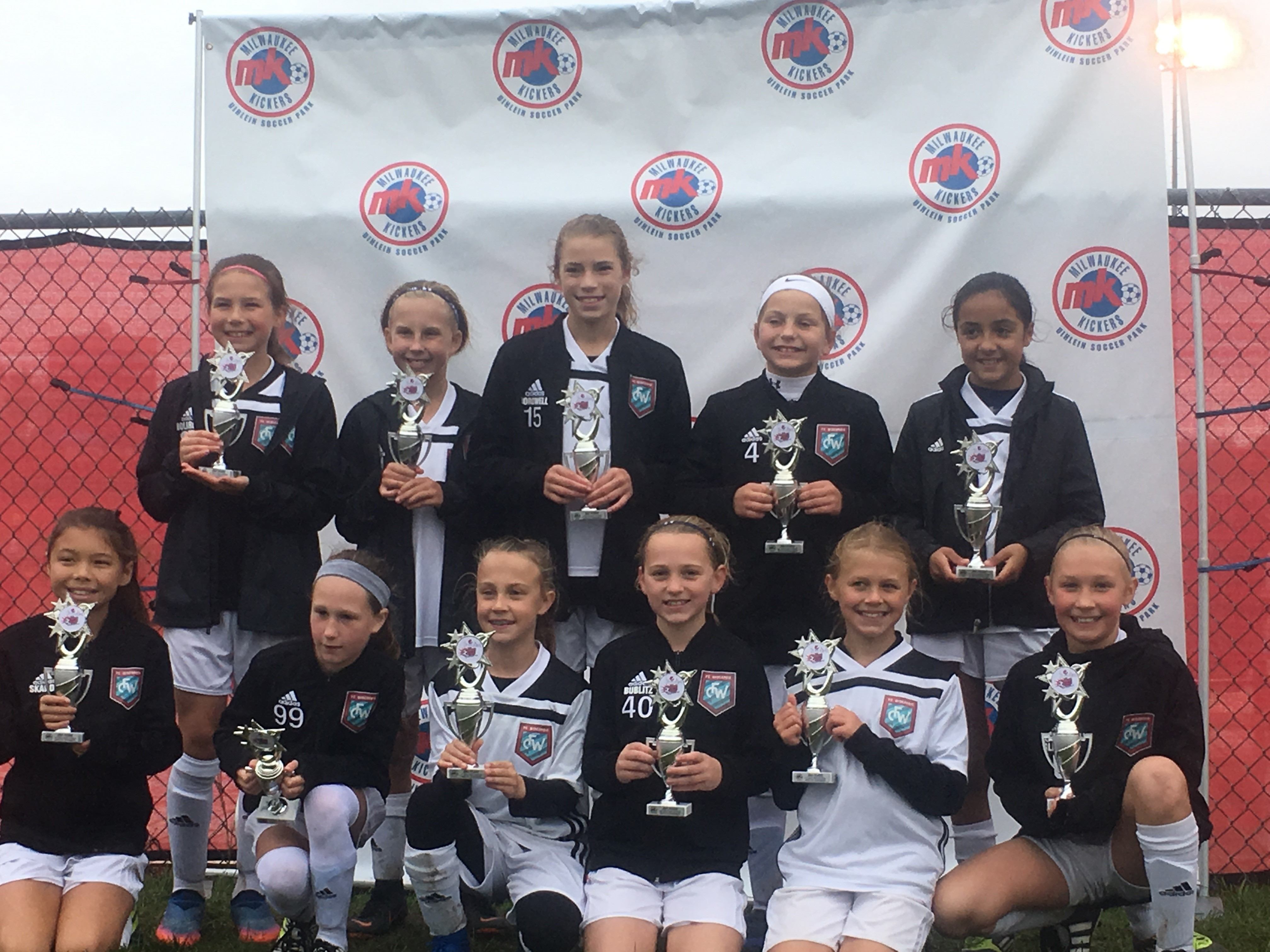 U11 and U12 Teams Shine in Tournament Play
