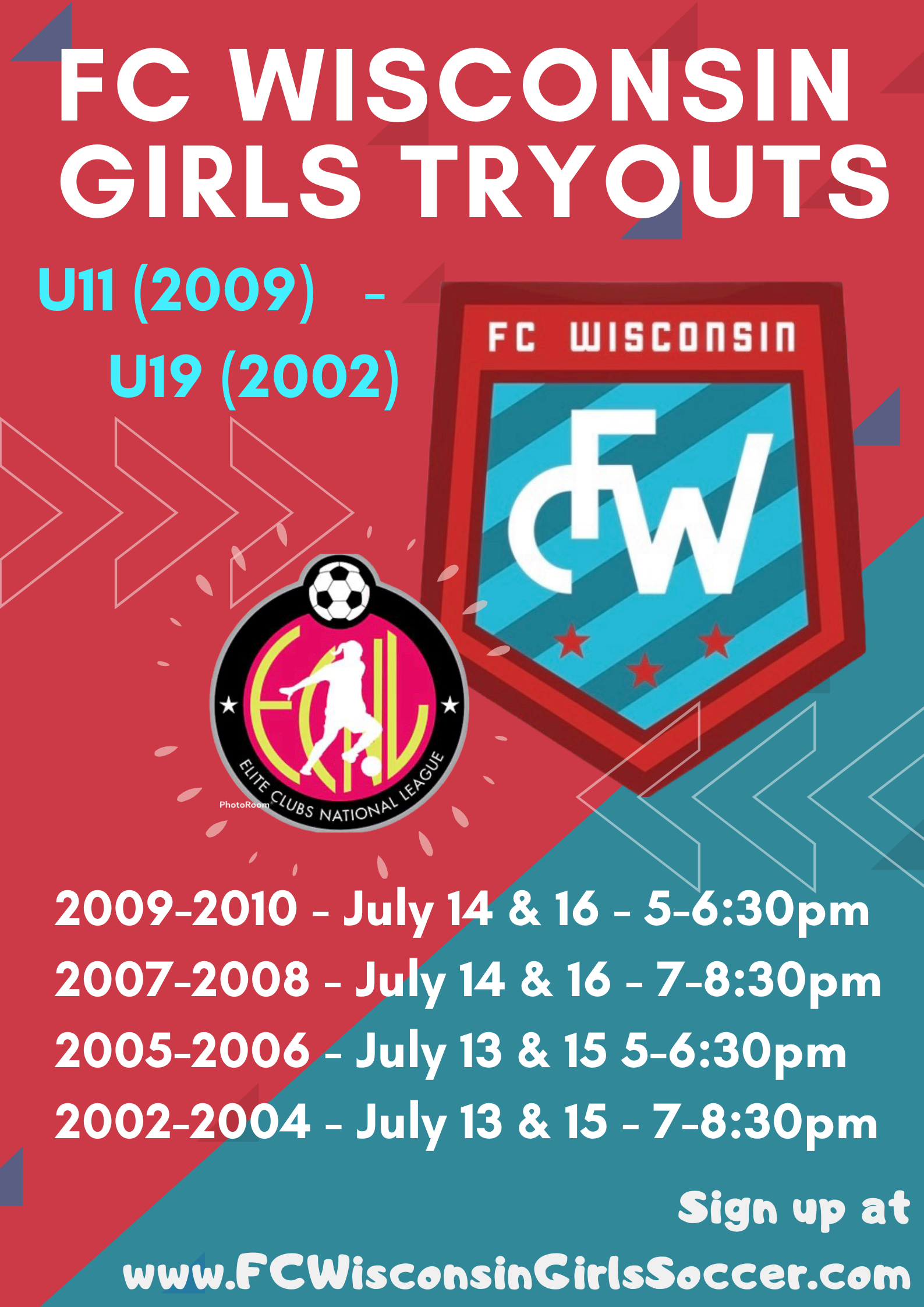 July 13 - 17: Tryouts