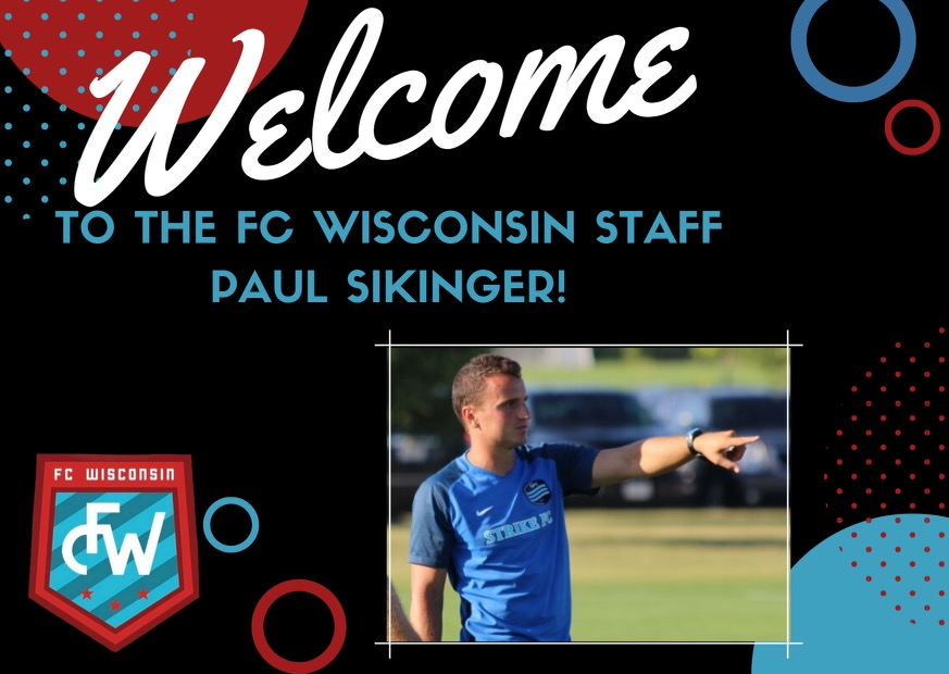 Paul Sikinger Joins FC WI as Pre-ECNL Director
