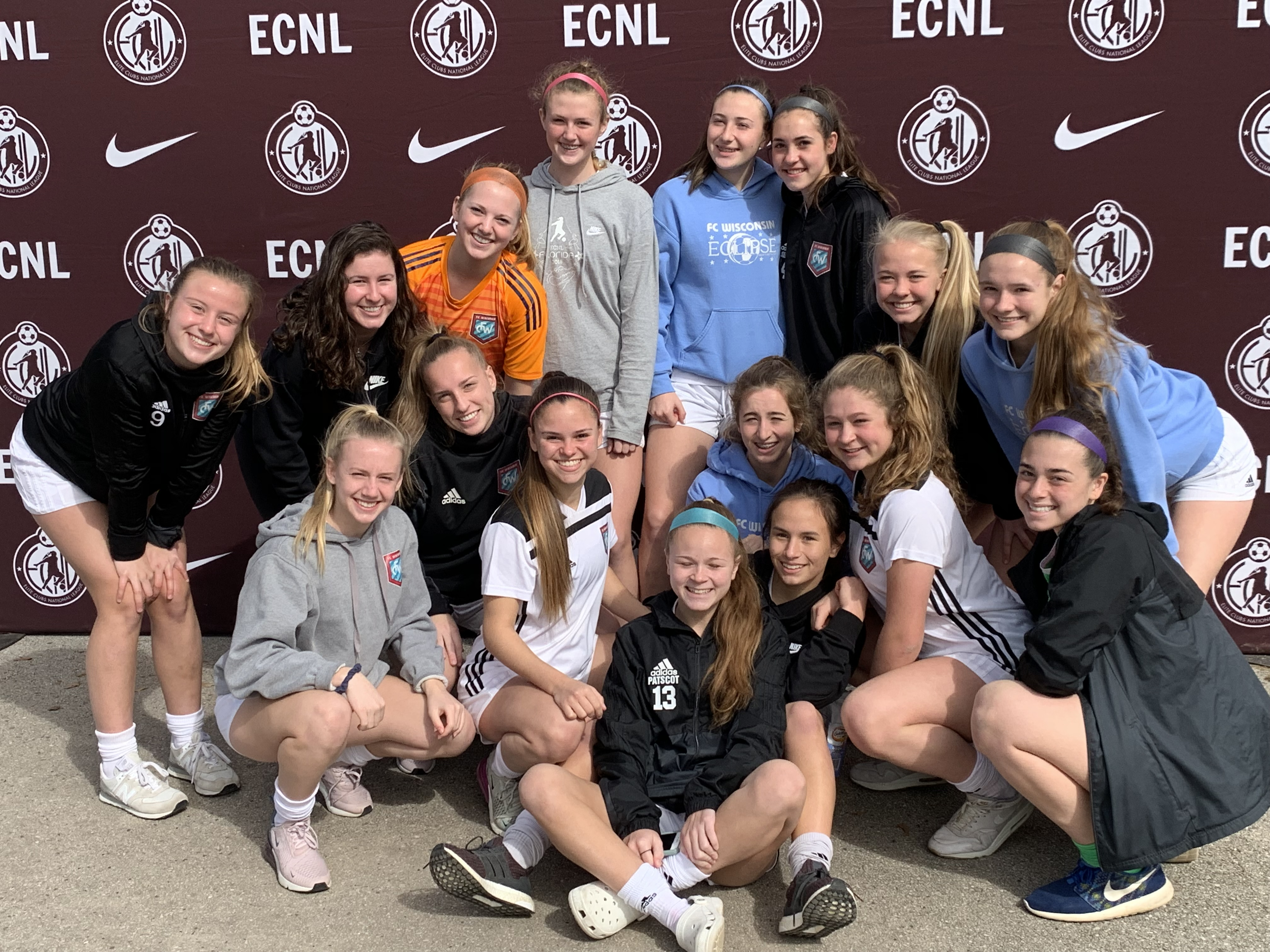 FC Wisconsin Goes 4-4-1 in ECNL Texas
